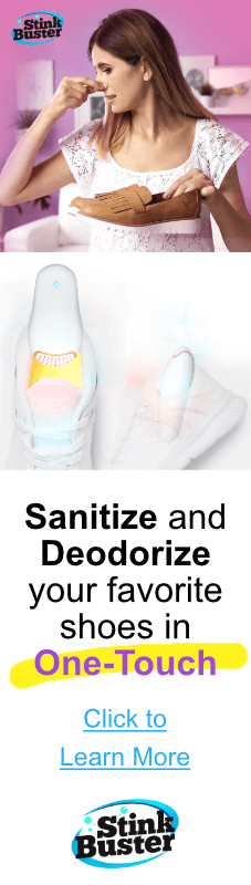 StinkBuster Shoe Deodorizer and Sanitizer